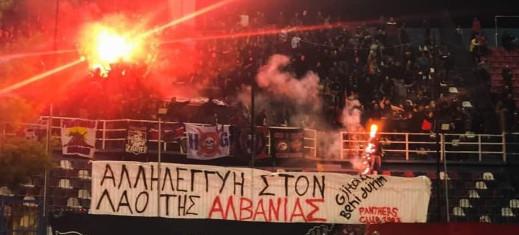 Mobilisation des ultras grecs pour les sinistrés du séisme: «La douleur et la solidarité n'ont pas de frontière, courage au peuple albanais»
