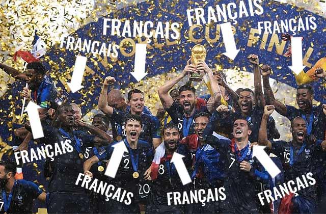 Souvenir de 2018: l'Équipe de France au service de l'unité nationale