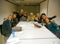 Enero 2013. Asamblea fundacional. Socias fundadoras.