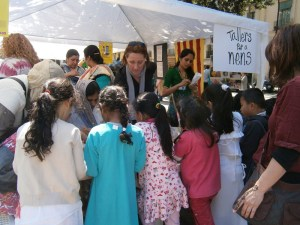 Festa de San Jordi 2013. Tallers per els nens.