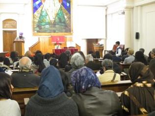 Celebració interreligiosa desmembre 2013 Grup Interreligiós del Raval