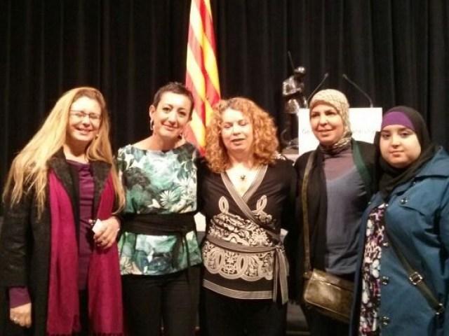 fotos 8 de març con la Presidenta del ICD març 2013D