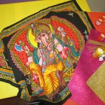 F.2 Ganesha i espelmes