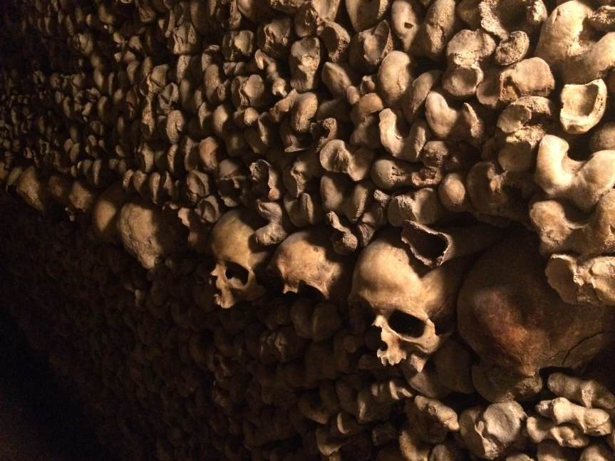 Paris, Les Catacombes & As Above, So Below