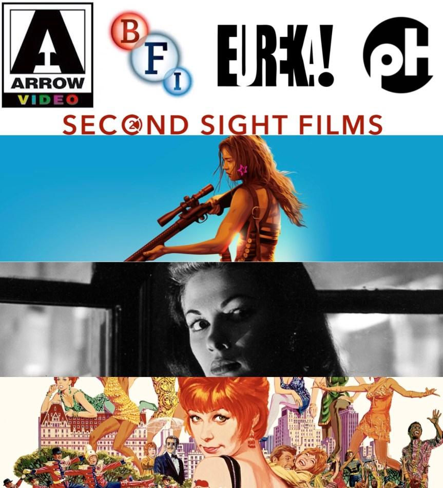 Eureka Video, BFI, Arrow Video, Indicator ve Second Sight: Avrupa'da Ev Sineması Yoğunluğu