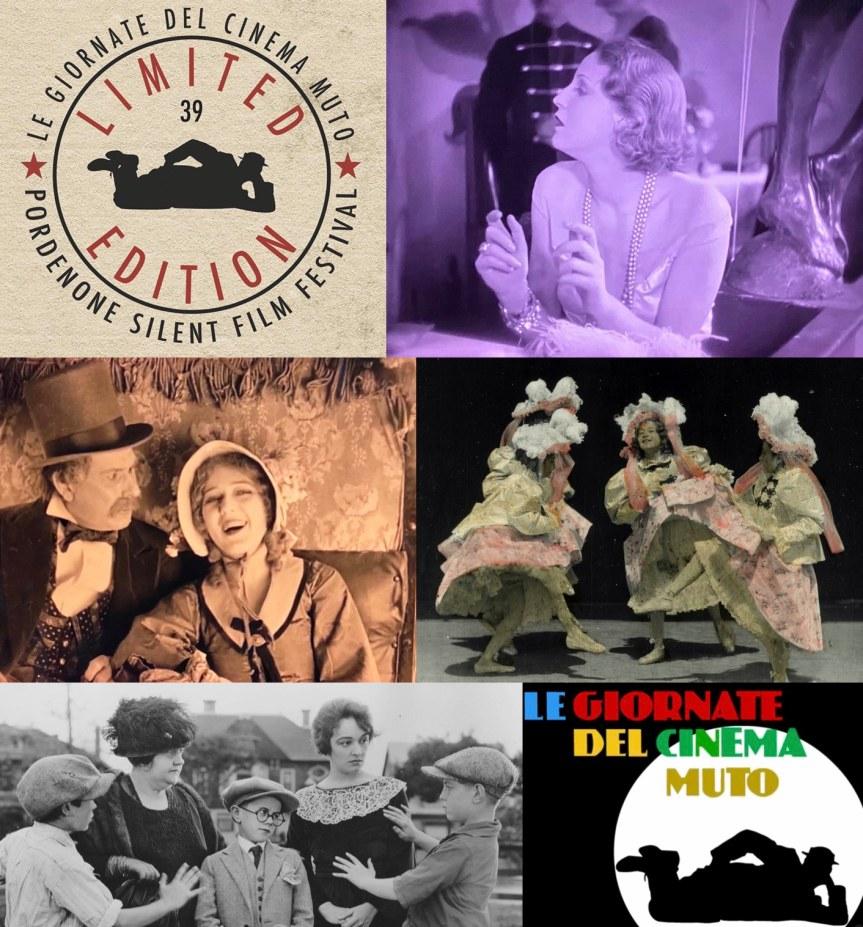 PORDENONE Sessiz Filmleri ve G.W. Pabst, Brigitte Helm, Cecil B. DeMille
