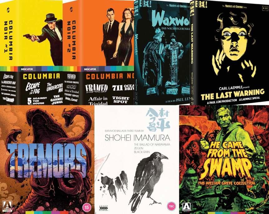 İngiltere'den ARROW FILMS, EUREKA VIDEO ve INDICATOR Ev Sineması Haberleri