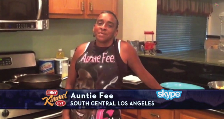 dialna-auntie-fee-cooks-on-jimmy-kimmel-live