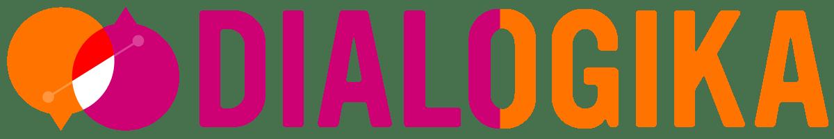 Horizontal Logo of Dialogika (Retina)