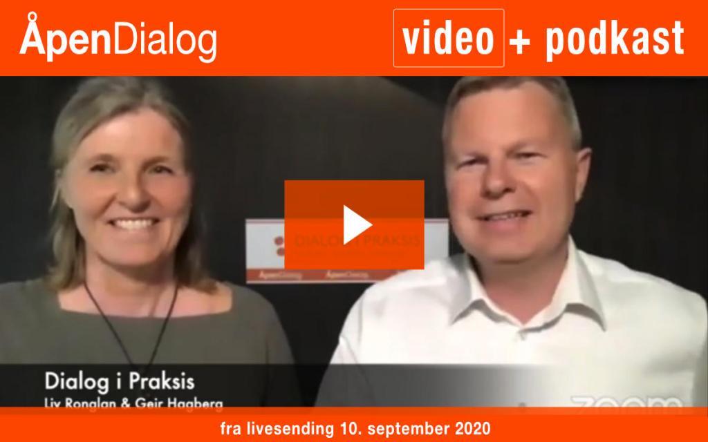 Opptak av ÅpenDialog 10.09.2020