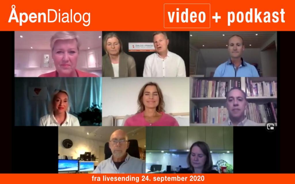 Opptak av ÅpenDialog 24.09.2020