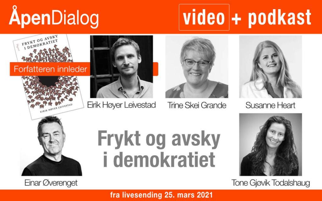 Opptak av ÅpenDialog 25.03.2021