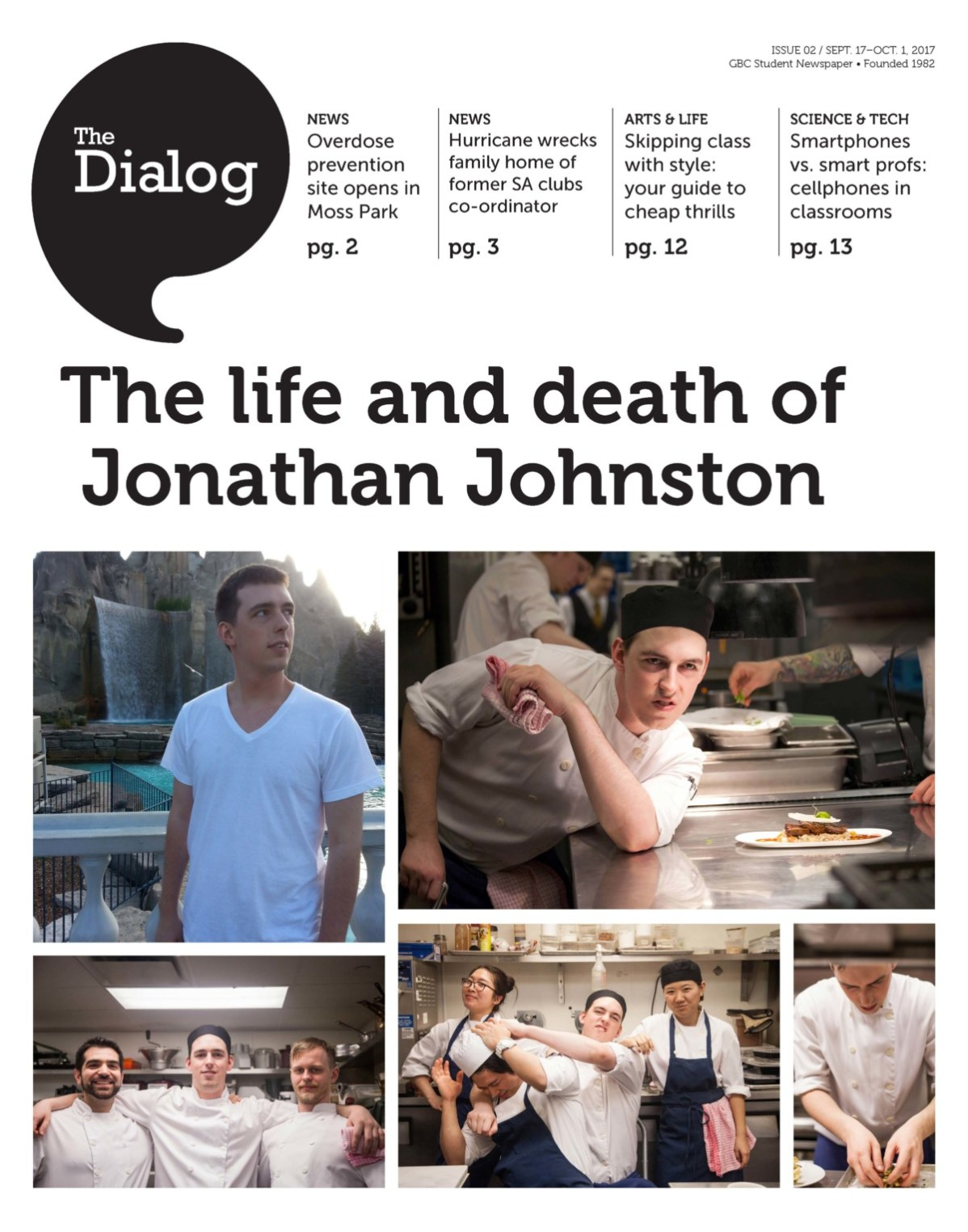 The Dialog Sept. 18 to Oct. 1, 2017