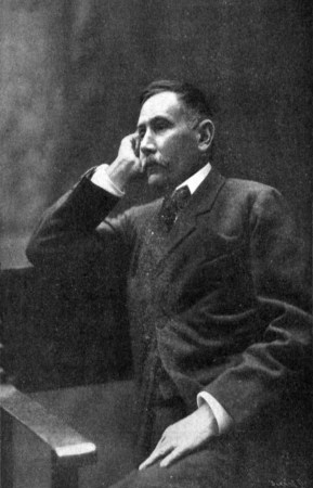 Benito Pérez Galdós, fotografiado por Christian Franzen