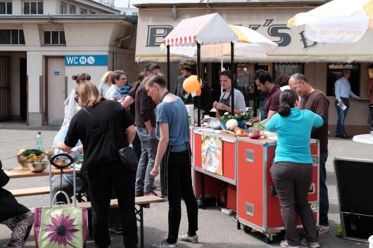 Gemeinschaftliches Kochen am Landparteienplatz (CC) Gebietsbetreuung Nord