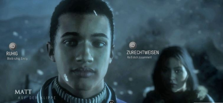 """Interaktives Videospiel: """"Until Dawn"""" Quelle: Sony"""
