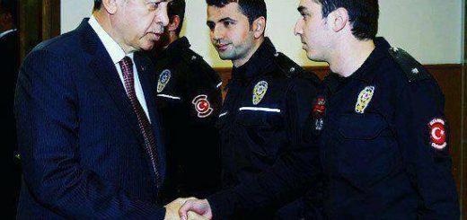 عکس پلیسی که سفیر روسیه در ترکیه را ترور کرده است
