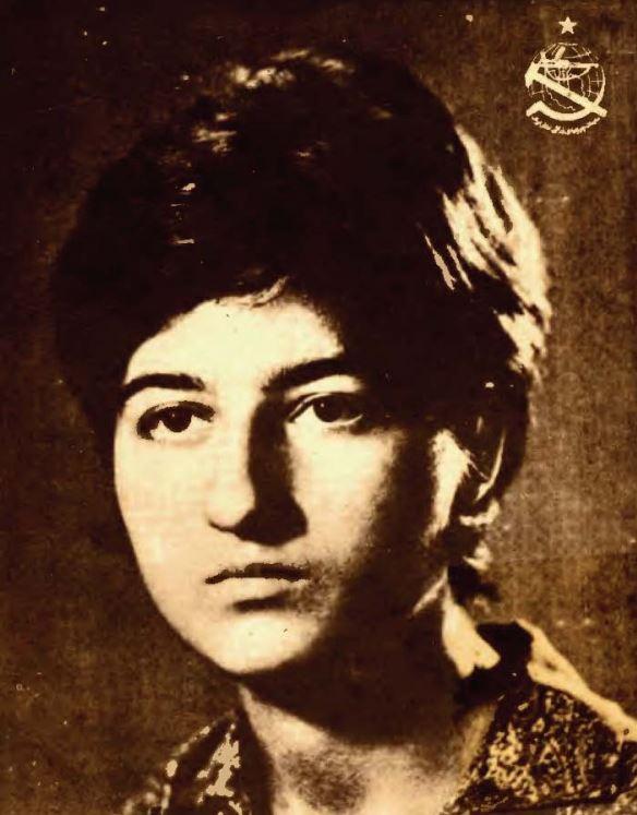 Mehrnoosh Ebrahimi, die erste gefallene Guerillakämpferin der OIPFG