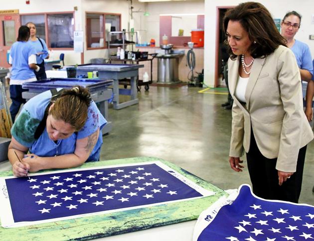 USA vice president, Kamala Harris