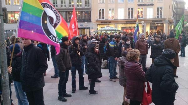 تظاهرات 19 ژانویه در شهر مونیخ