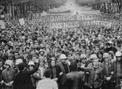 فرانسه، مای 1968