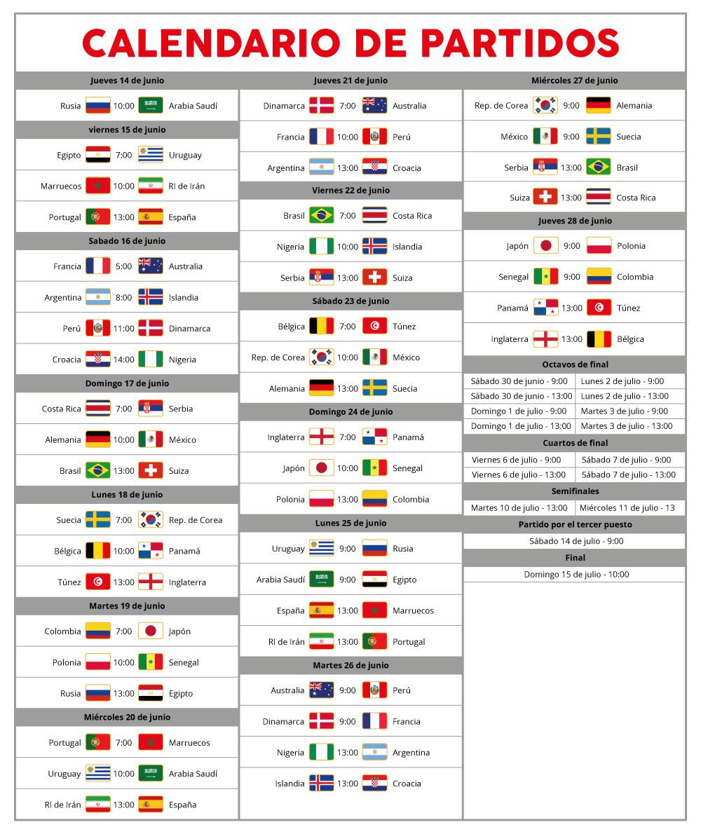 Calendario Mundial Rusia 2018.Mundial Rusia 2018 Dialoguemos