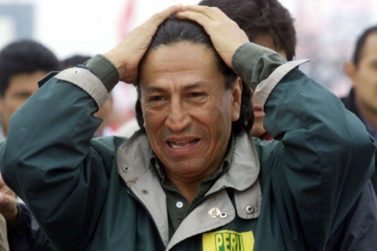 Alejandro Toledo, expresidente peruano, está detenido en EEUU