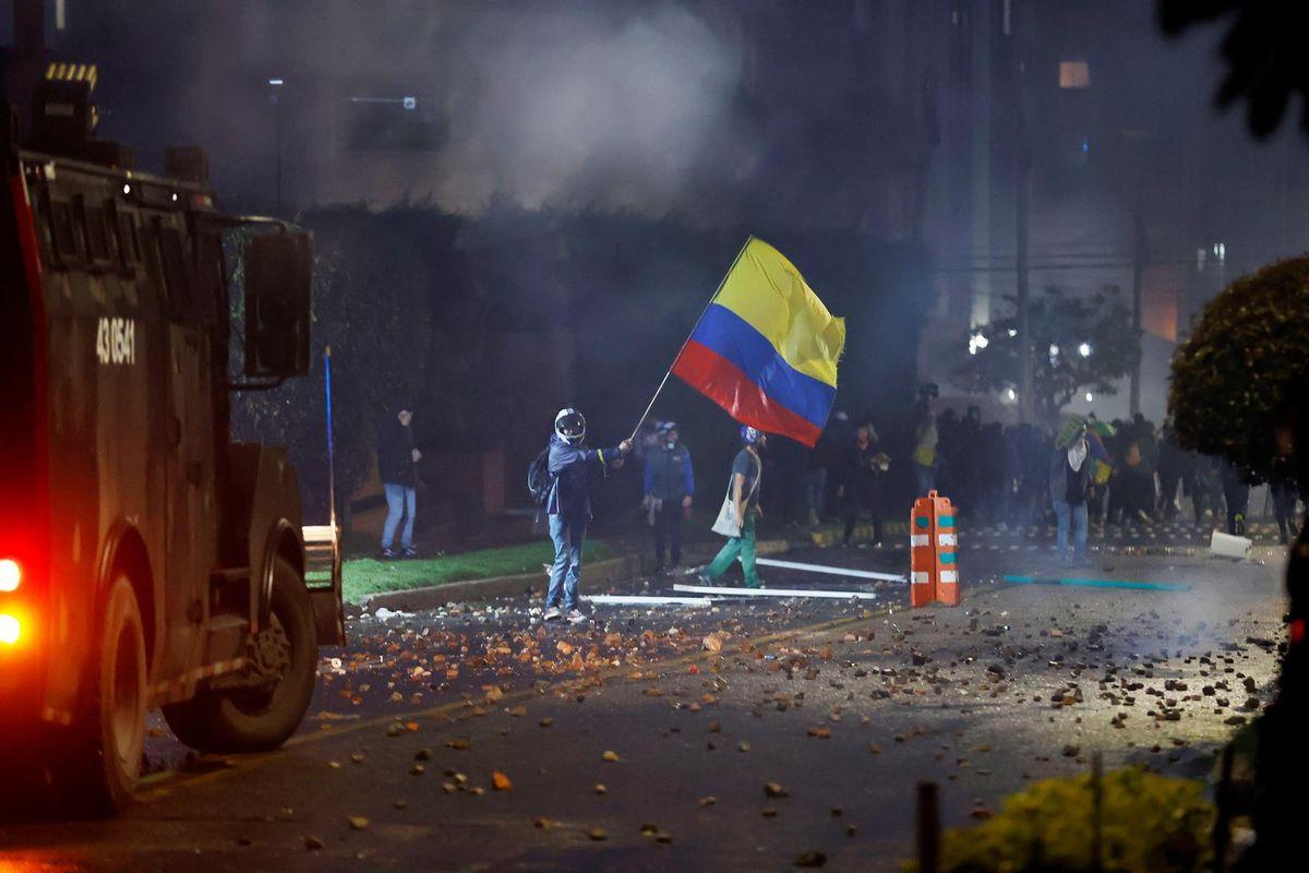 La legítima protesta social de Colombia no puede ser un paraguas de grupos vandálicos