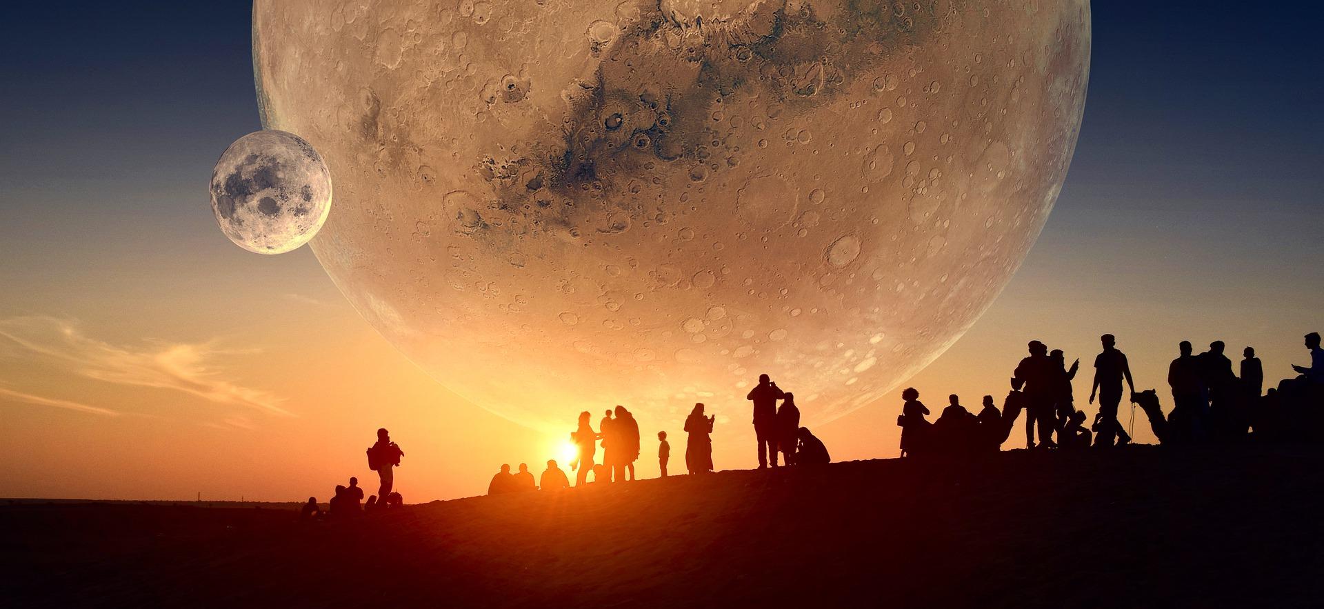 A colonizar Marte