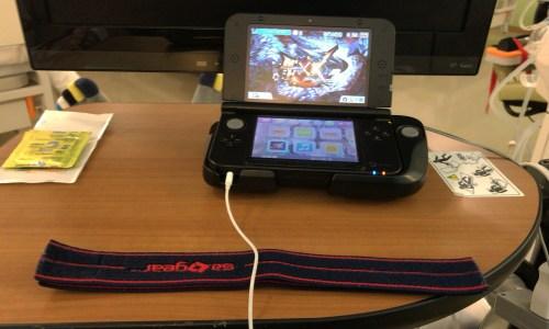 透析中に任天堂3DSやってみた