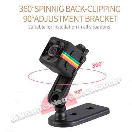 Micro câmera espiã SQ11 (1)