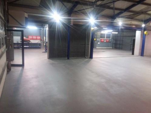 Garagevloer – kunststof gietvloer autogarage (garagebedrijf) België