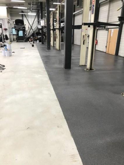 chemisch bestendige vloer