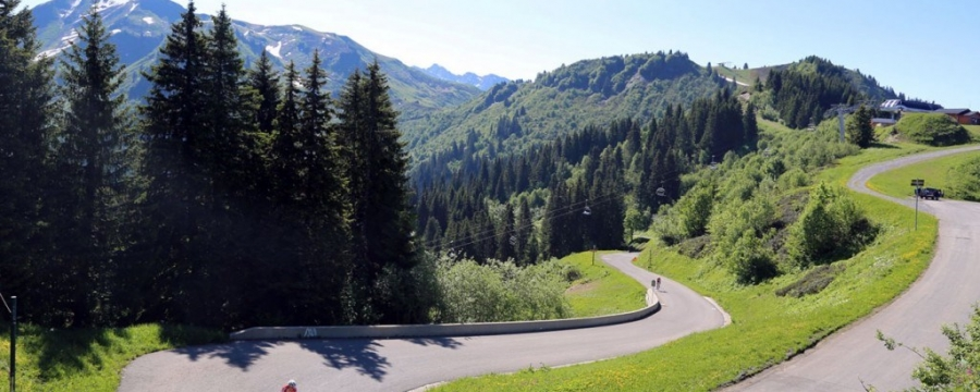 Diamond Cycle Tours on the Joux Plane Tour de France
