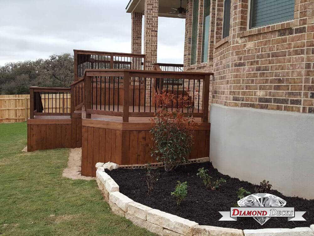 San Antonio Deck Builder Patio Supplier In Tx Diamond