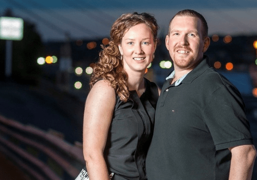 a couple that purchased a diamond engagement ring in st. john's nl