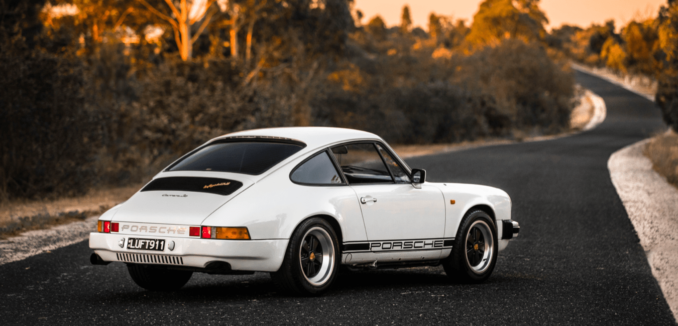 Vintage Porsche paint protection and diamond detailing perth