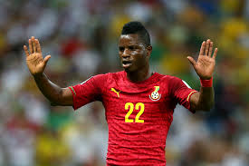 MUBARAK WAKASO IMPRESSED WITH BLACK STARS RETURN