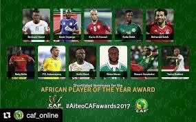 CAF to reveal Africa best player top-three in Accra next week