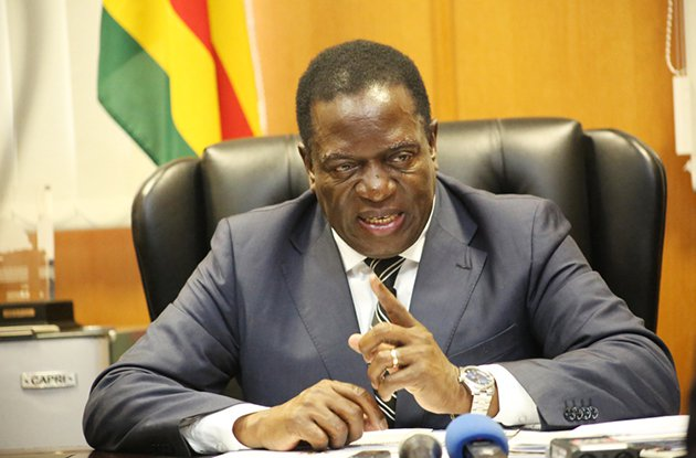 Zimbabwe's Mnangagwa seeks end to sanctions