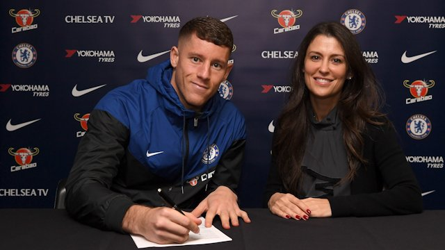 Chelsea signs Ross Barkley