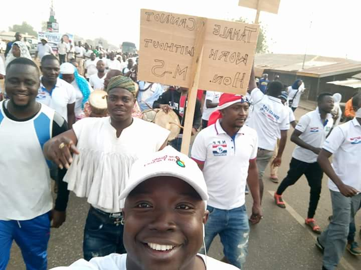 N/R: Hundred's Walk in Solidarity with Mayor of Tamale