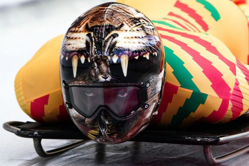 GHANA'S WINTER OLYMPIAN IS OUT OF CONTENTION FOR A MEDAL