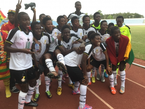 BLACK MAIDENS QUALIFY FOR FIFA UNDER 17 WORLD CUP IN STYLE