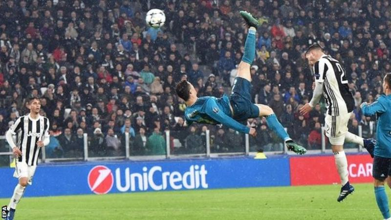 RONALDO STEALS THE SHOW IN TURIN