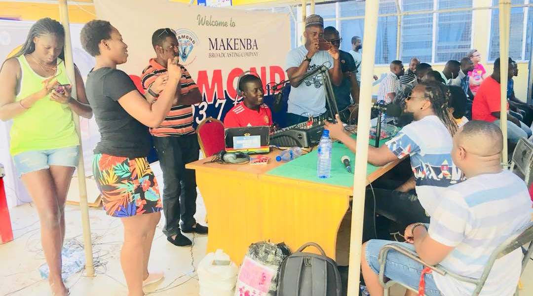DIAMOND FM EPL SHOW LAUNCH ENDS SUCCESSFULLY