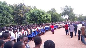 Parents and wards flood various SHS campuses to for admissions, as double tract system takes effect
