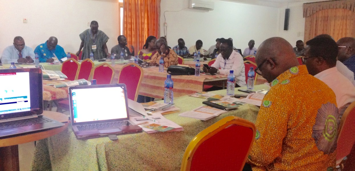 SEED SECTOR SUPPORT- THREE DAYS WORKSHOP HELD IN TAMALE