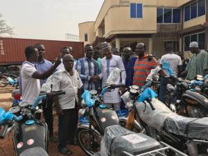 Nanumba North Assembly , distributes  62 motor bikes to assembly members