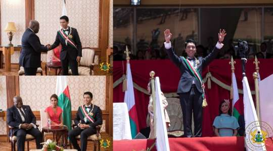 New Madagascan President lauds Ghana's recent development